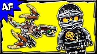 lego ninjago cole s dragon 70599 stop motion build review