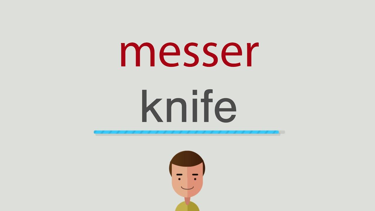 Messer Englisch