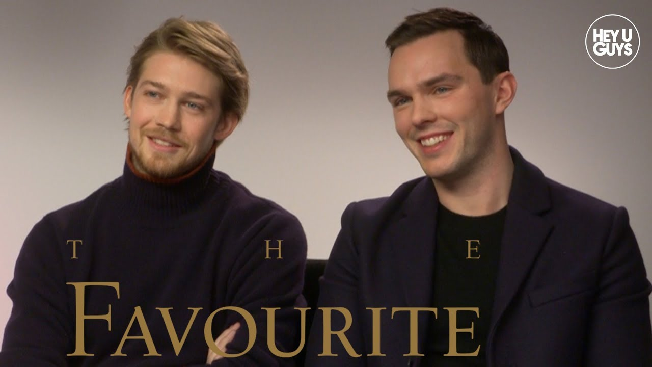 Joe Alwyn & Nicholas Hoult on The Favourite and X-Men future for Beast
