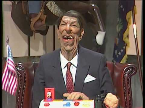 Spitting Image  An Audience with Ronald Reagan