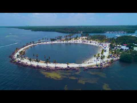 Matheson Hammock Park   Drone Footage   Miami Fl   4K