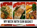 My Week With SUN BASKET: Unboxing, Cooking & Review