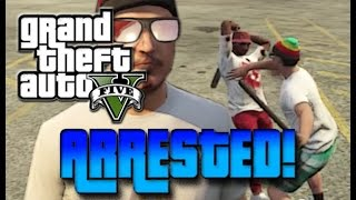 CITIZENS ARREST IN GTA 5 ! - TROLLING/RAGING/FREAKOUT - GOONONFIRE