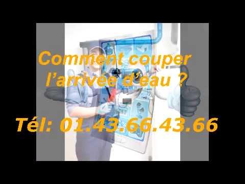 comment couper l'arrivée d'eau ? paris tél: 01.43.66.43.66 - youtube