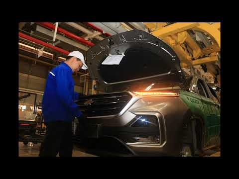 2019 CHEVROLET CAPTIVA for Thailand is built in SGMW Indonesia Factory that makes WULING ALMAZ
