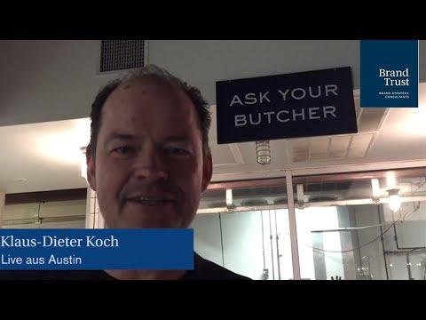 Klaus-Dieter Koch teilt seine Erkenntnisse des 2. Konferenztages der SXSW 2018