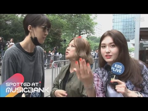 [Spotted at Musicbank] 뮤직뱅크 출근길 05.12 - Unnies(Somi), MonstaX, SF9, LABOUM, DIA, 언니쓰(소미), 몬스타엑스, 라붐
