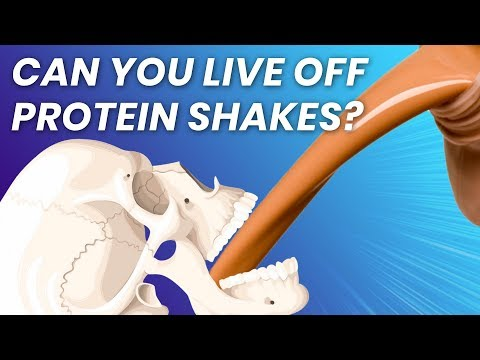 Can You Only Drink Protein Shakes And NEVER Eat Food?