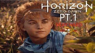 Horizon Zero Dawn:(PS4pro) Very Hard Difficulty! Death Count PT.1
