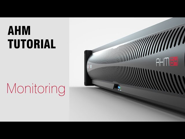 AHM System Manager - Monitoring