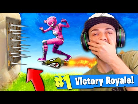 The MOST EPIC Fortnite: Battle Royale ROCKET RIDE EVER!