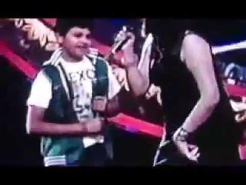 Indian Idol Junior  Aryan Das Energetic Performance 29 June 2013