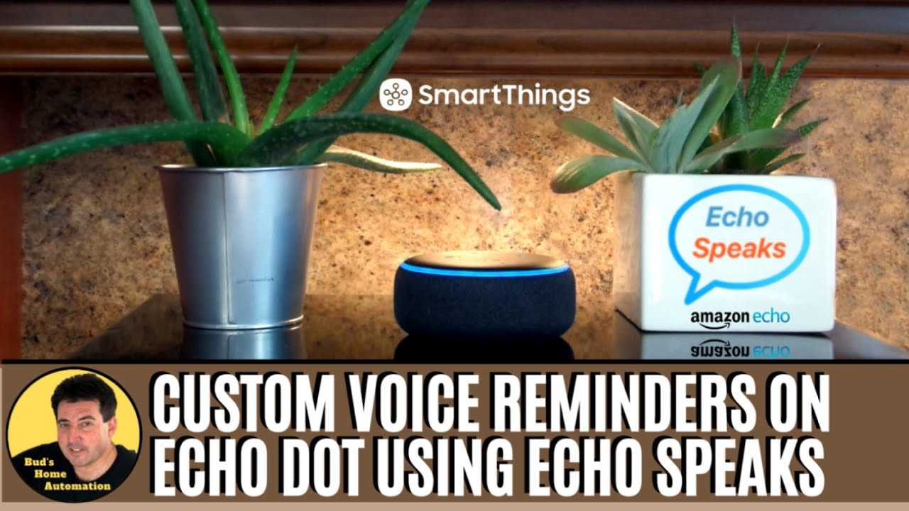 British Male Voice on Echo Device Using Echo Speaks & SmartThings