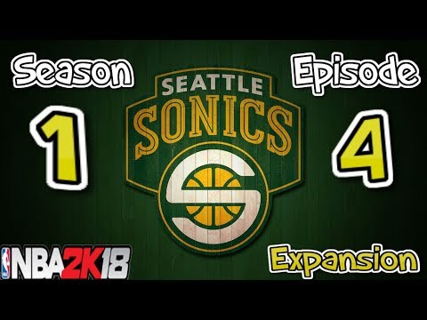 NBA 2K18 Seattle Sonics Expansion | Playing Lonzo Ball and the Lakers