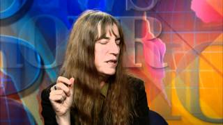 Patti Smith Reflects on Power of Words, Rock 'N' Roll