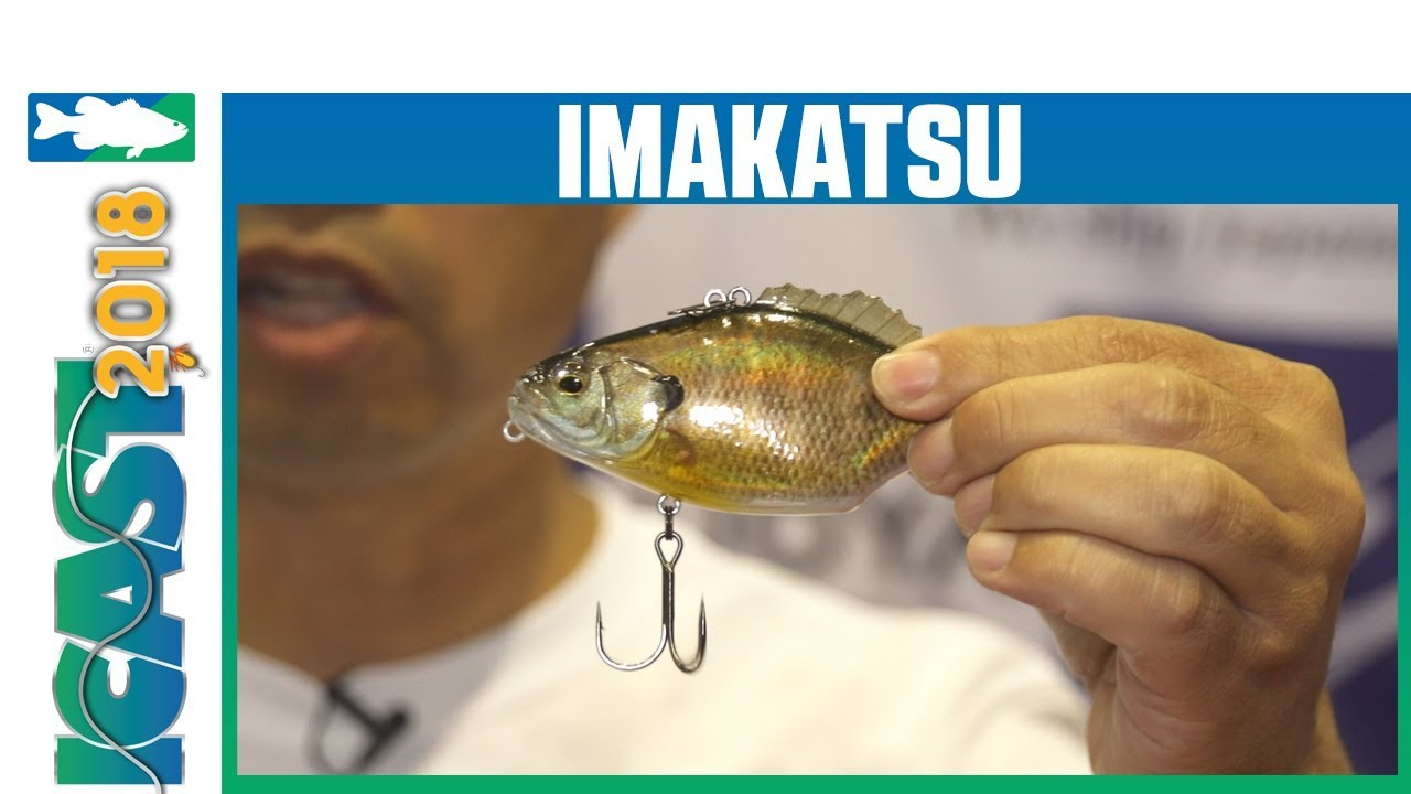 2108 Imakatsu Magnum Gill Sonic F 3D Realism 105mm 34 grams Floating Lure 590