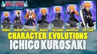 Character Evolution: Ichigo Kurosaki [Bleach Brave Souls]