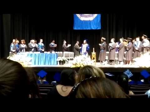 Graduation ceremony at San Joaquin valley college