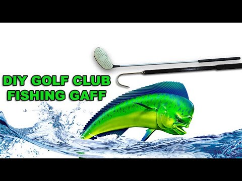 Homemade Fishing Gaff From Golf Club