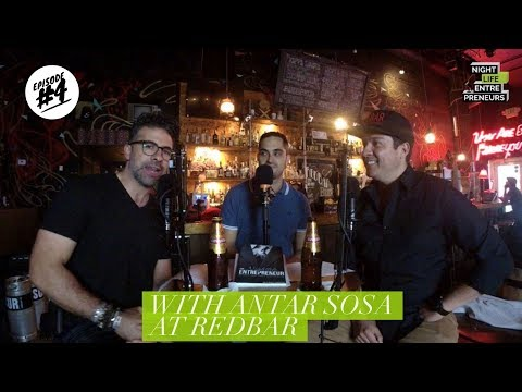 Nightlife Entrepreneurs Podcast episode 4 the art of the bar crawl with Antar Sosa