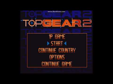 Descargar Top Gear 2 + SNES