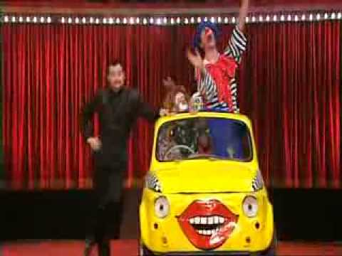 Celebrity Circus - Kerri's Clown Act