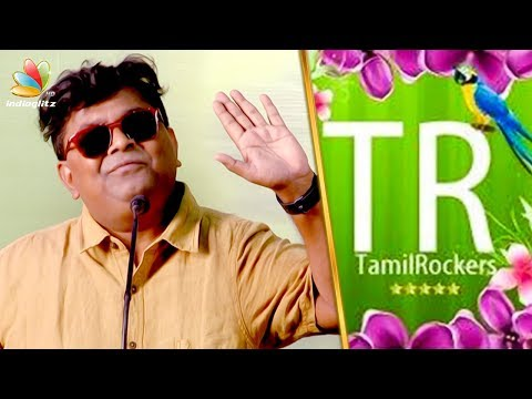 Tamilrockers Upload My Movie : Mysskin Speech | Poorna | Savarakathi Press Meet