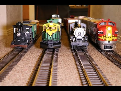 This little house is crammed FULL of model trains!