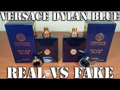 Fake fragrance  Versace Dylan Blue