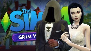 THE GRIM REAPER GETS MARRIED - Sims 4 Funny Moments #20