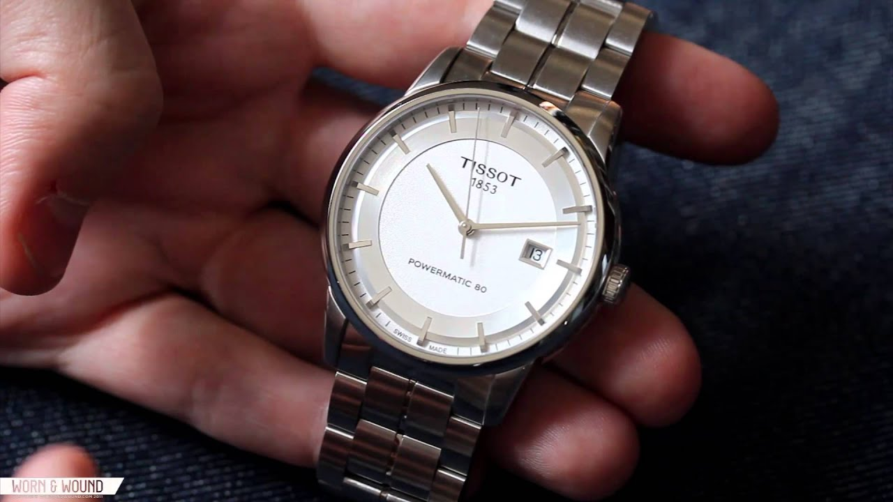 Tissot Powermatic 80 Luxury Automatic Review Youtube