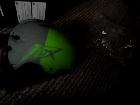Fox Racing Transition Hard Shell Helmet 2011