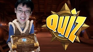 Who Am I? Trump Takes the Hearthstone Quiz!