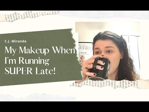 My Makeup When I'm Running SUPER Late!! (10-15 mins)