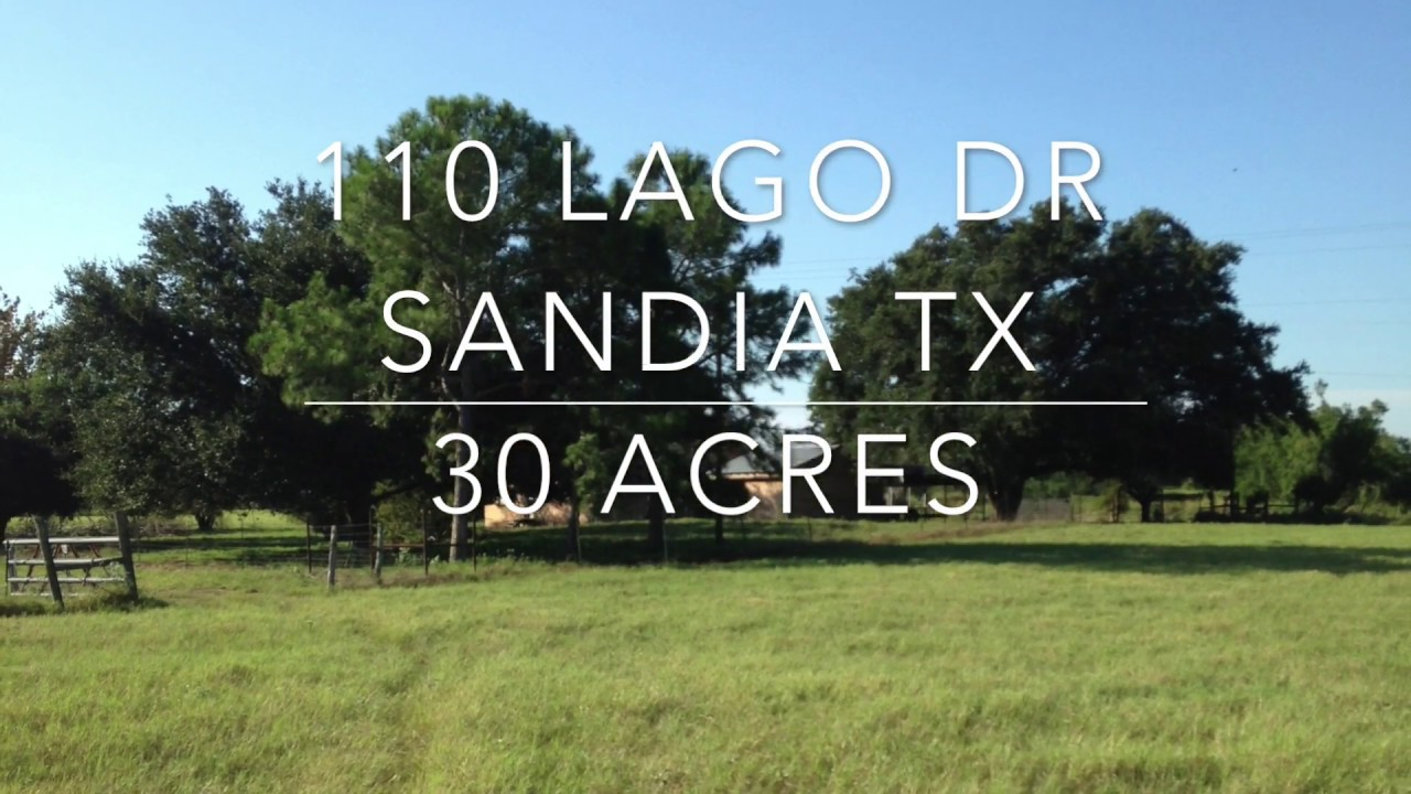 110 Lago Dr Sandia Texas Homes for sale in Texas farm ranch and