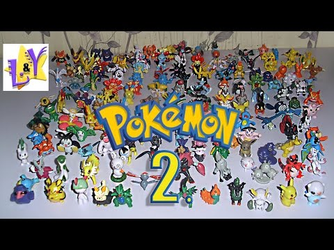 Покемоны с именами 168 фигурок Часть 2 Покемон го Pokemon Go