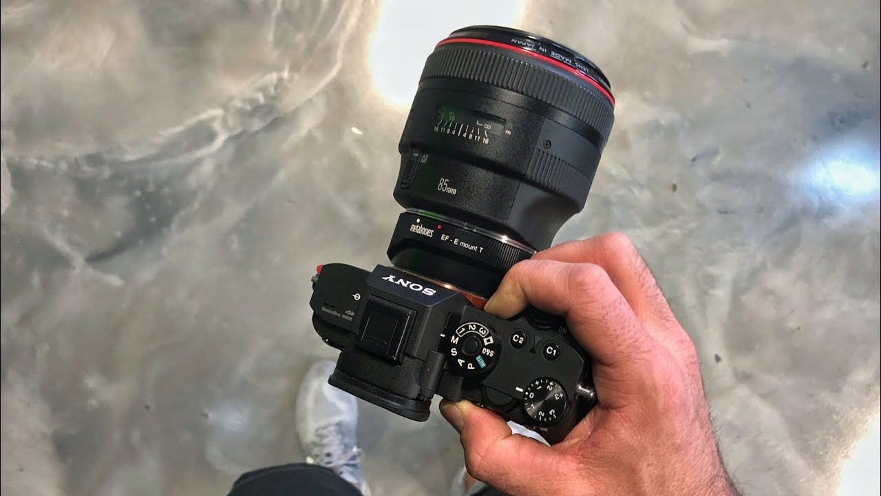 Sony A7RIII eye autofocus with Canon L series lenses - Does it work?