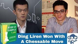 Winning with a novelty | Ding Liren vs Fabiano Caruana: Norway Chess 2019