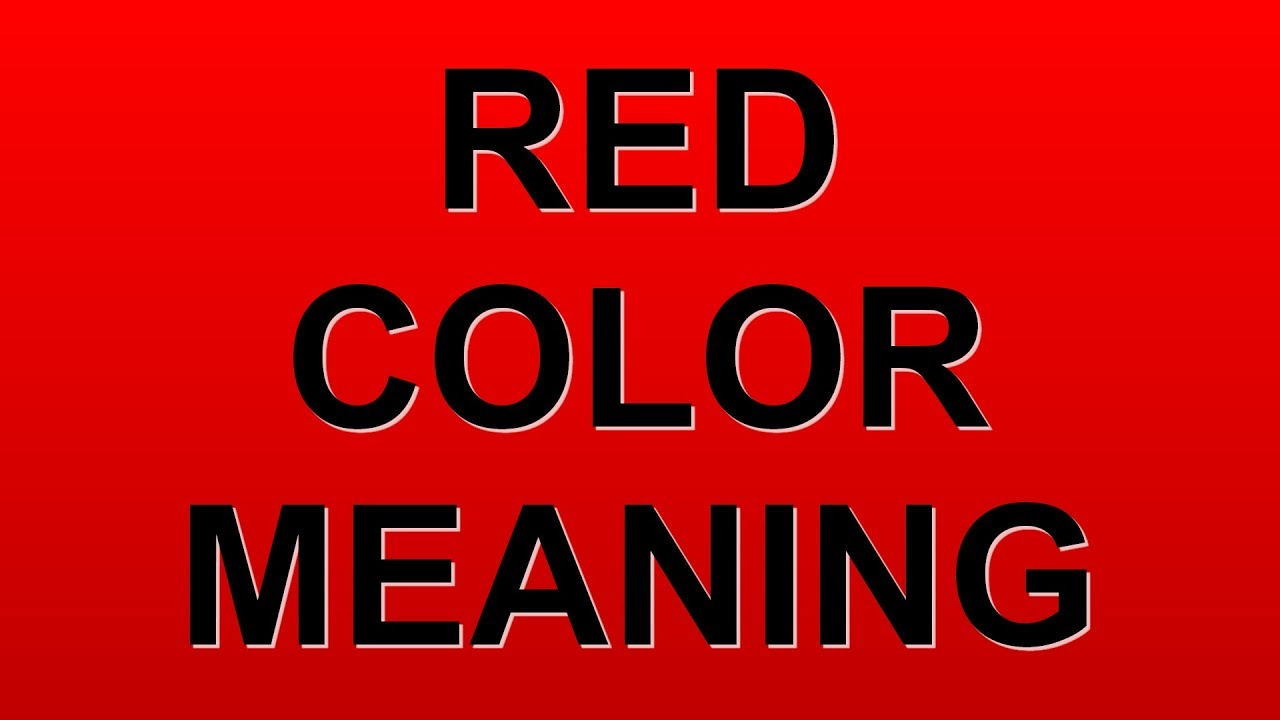 Red Is Symbolic Of Choice Image - meaning of text symbols