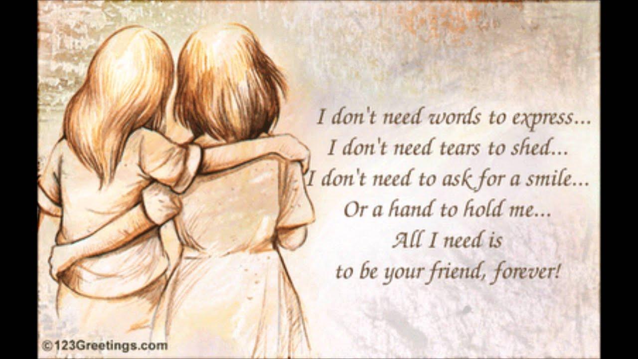 Рисунки, картинки с надписями на английском языке про дружбу