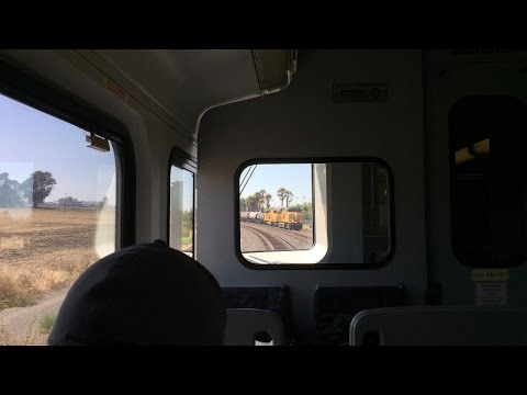 Altamont Corridor Express HD 60fps: Riding ACE Train #4 (San Jose to Livermore) 7/23/15