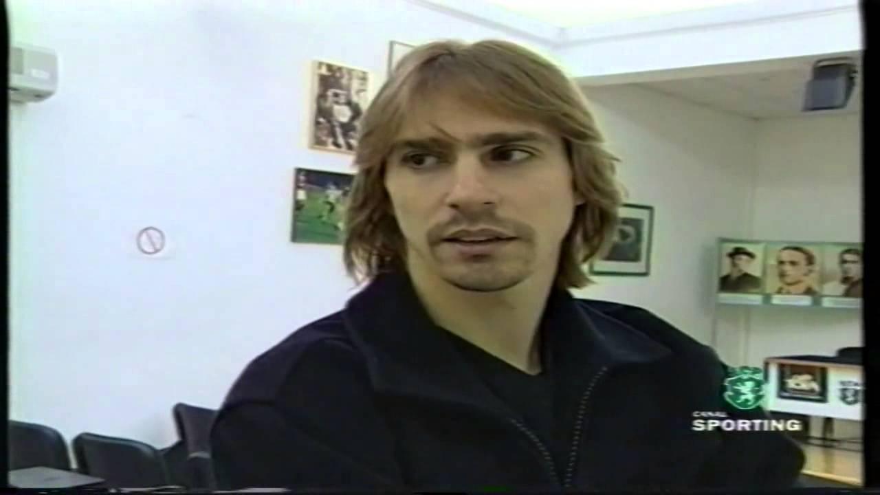 Entrevista a Edmilson (Sporting) a 04/03/1999