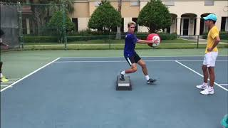 Labor Day Fitness & Footwork Tennis Training