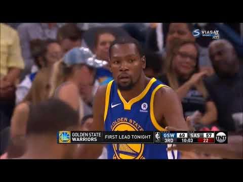 Kyle Anderson v.s. Kevin Durant superstar duel (03/11/2017)