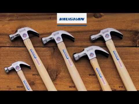 How a Vaughan Claw Hammer is made - BrandmadeTV