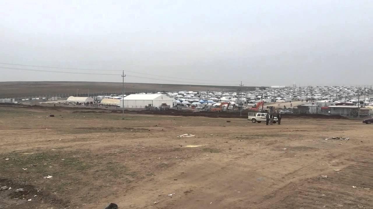 Yazidi refugee camp video by Seth Frantzman