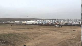 Yazidi refugee camp video by Seth Frantzman