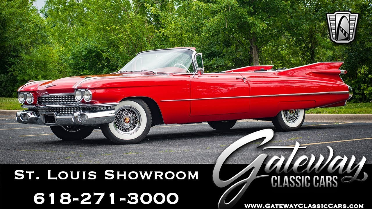 1959 Cadillac Convertible Gateway Classic Cars St. Louis ...