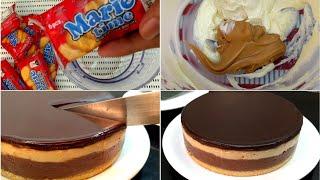 No-Bake Peanut Butter Chocolate Cheesecake   No-bake Cheesecake Recipe