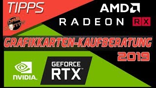 Grafikkarten Kaufberatung 2019 | Nvidia GeForce RTX/GTX vs AMD Radeon RX | DasMonty